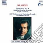 Brahms Johannes - Sinfonia N.4 Op.98, Overture Tragica Op.81, Academic Festival Op.80 cd musicale di Johannes Brahms