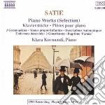 Erik Satie - Menus Propos Enfantins, 3 Gymnopedie, Descriptions Aromatiques, Embryons Dessech cd musicale di Klara Kormendi