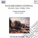 Elgar Edward - Elegia Op.58, Introduzione E Allegro, Serenata X Archi Op.20 cd musicale di Adrian Leaper