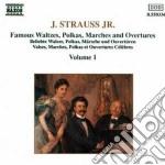 Strauss Johann - Valzer Op.411, Op.333, Op.388, Op.316, Ouvertures Die Fledermaus, Polka Op.365, cd musicale di Johann Strauss