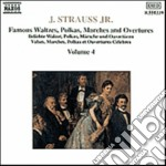 Strauss Johann - Valzer Op.437, Op.101, Op.270, Op.443, Op.307, Ouverture Karneval In Rom, Polka cd musicale di Johann Strauss
