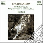 Rachmaninov Sergei - Preludio N.1 > N.10 Op.23, Morceaux De Fantasie N.1 > N.5 Op.3 cd musicale di Sergei Rachmaninov