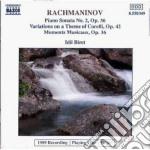 Rachmaninov Sergei - Sonata X Pf N.2 Op.36, Variazioni Su Untema Di Corelli Op.42, Momento Musicale cd musicale di Sergei Rachmaninov
