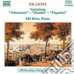 Brahms Johannes - Variazioni Su Un Tema Di Schumann Op.9,variazioni Su Un Tema Di Handel Op.24, V cd musicale di Johannes Brahms