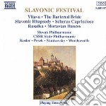 Dvorak Antonin - Polacca Da Rusalka, Scherzo Capricciosoop.66, Rapsodia Slava Op.45 cd musicale di ARTISTI VARI