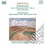 Bedrich Smetana - Quartetto X Archi N.1, N.2