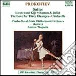 LUOGOTENENTE KIJE' SUITE OP.60, L'AMORE cd musicale di Sergei Prokofiev