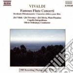 Vivaldi Antonio - Concerto X Fl E Archi In Fa Mag, Rv 108, X 2 Fl E Archi Rv 533, X Flautino Rv 44 cd musicale di Antonio Vivaldi