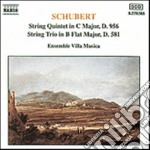 QUINTETTO X ARCHI D 956, TRIO X ARCHI D cd musicale di Franz Schubert