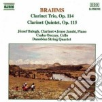 TRIO X CLAR, VLC E PF OP.114, QUINTETTO cd musicale di Johannes Brahms