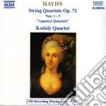 Haydn Franz Joseph - Quartetto X Archi N.1, N.2, N.3 Op.71