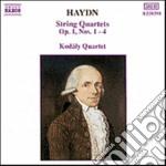 Haydn Franz Joseph - Quartetto X Archi N.1 > N.4 Op.1 cd musicale di Haydn franz joseph