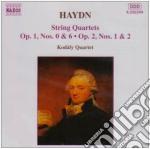 QUARTETTO X ARCHI N.5, N.6 OP.1, N.1, N. cd musicale di Haydn franz joseph