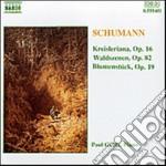 Schumann Robert - Kreisleriana Op.16, Valdszenen Op.82, Blumenstuck Op.19 cd musicale di Robert Schumann