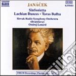 Janacek Leos - Sinfonietta, Taras Bulba, Lachian Dances cd musicale di JANACEK