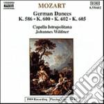 Mozart Wolfgang Amadeus - Danze Tedesche N.1 > N.12 K 586, 6 Danze Tedesche K 600, 4 Danze Tedesche K 602, cd musicale di Wolfgang Amadeus Mozart