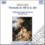 Mozart Wolfgang Amadeus - Serenata K 185, K 203 cd musicale di Wolfgang Amadeus Mozart