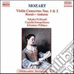 Mozart Wolfgang Amadeus - Concerto X Vl E Orchestra N.1 K 207, N.2 K 211, Rondo'k 269, Andante In Fa Magg cd musicale di Wolfgang Amadeus Mozart