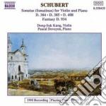 Schubert Franz - Sonata X Vl E Pf D 384, D 385, D 408, Fantasia D 934 cd musicale di Franz Schubert
