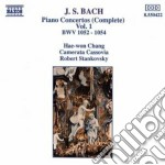 Bach J.S. - Concerti Per Pianoforte Vol.1:  Bwv 1052, 1053, Bwv 1054 cd musicale di Robert Stankovsky