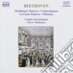 Beethoven Ludwig Van - Mödlinger Tänze, Contraddanze, Danze Tedesche, Minuetti cd musicale di Beethoven ludwig van
