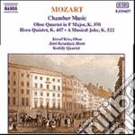 Mozart Wolfgang Amadeus - Quartetto X Oboe, Vl, Vla, Vlc K 370, Quintetto X Corno, Vl, 2 Vla, Vlc K 407, E cd musicale di Wolfgang Amadeus Mozart