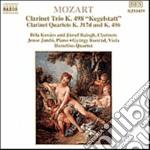 Mozart Wolfgang Amadeus - Quartetto X Clar E Archi K 317d, K 496,trio X Clar, Vla E Pf K 498