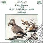 SONATE X PF VOL.2 (INTEGRALE): SONATA K cd musicale di Wolfgang Amadeus Mozart