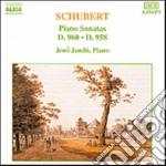 Schubert Franz - Sonata X Pf D 960, D 958 cd musicale di Franz Schubert