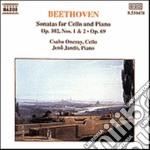SONATA PER VIOLONCELLO N.3, N.4, N.5 OP. cd musicale di Beethoven ludwig van