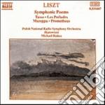 Liszt Franz - Poemi Sinfonici, Vol.1 cd musicale di Franz Liszt