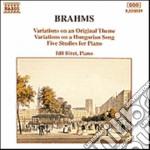 Brahms Johannes - Variazioni Su Un Tema Originale Op.21, Variazioni Su Un Canto Ungherese Op.21, 5 cd musicale di Johannes Brahms