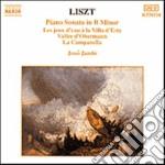 Liszt Franz - Sonata X Pf In Si Min, Les Jeux D'eau Avilla D'este, Valee D'obermann, La Campa cd musicale di Franz Liszt