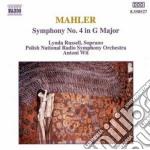 Mahler Gustav - Sinfonia N.4 cd musicale di Antoni Wit