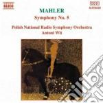 Mahler Gustav - Sinfonia N.5 cd musicale di Antoni Wit