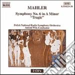 SIMPHONY N.6 (2CD) cd musicale di Gustav Mahler