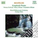 Respighi Ottorino - Pini Di Roma, Fontane Di Roma, Feste Romane cd musicale di Ottorino Respighi