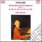 QUARTETTI X ARCHI VOL.2 (INTEGRALE): QUA cd musicale di Wolfgang Amadeus Mozart