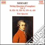 QUARTETTI X ARCHI VOL.3 (INTEGRALE): QUA cd musicale di Wolfgang Amadeus Mozart