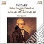 QUARTETTI X ARCHI VOL.4 (INTEGRALE): QUA cd musicale di Wolfgang Amadeus Mozart