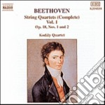 QUARTETTI X ARCHI (INTEGRALE) VOL.1: QUA cd musicale di Beethoven ludwig van