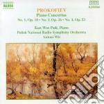 Prokofiev Sergei - Concerto X Pf E Orchestra N.3 Op.26, N.4 Op.53, N.1 Op.10 cd musicale di Sergei Prokofiev