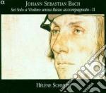 Bach Johann Sebastian - Sonate E Partite X Vl Solo Vol.1: Sonata N.1 Bwv 1001, N.2 Bwv 1003, Partita N.1 cd musicale di Johann Sebastian Bach
