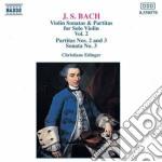 Bach Johann Sebastian - Sonate E Partite X Vl Solo Vol.2: Partita N.2 Bwv 1004, Bwv 1006, Sonata N.3 Bwv cd musicale di Johann Sebastian Bach
