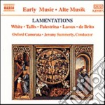LAMENTATIONS cd musicale