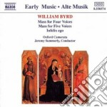 William Byrd - Messa A 4 Voci, Infelix Ego, Messa A 5 Voci cd musicale di William Byrd
