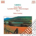 PEZZI LIRICI (INTEGRALE) VOL.2: SELEZION cd musicale di Edvard Grieg