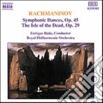 Rachmaninov Sergei - Danze Sinfoniche Op.45, L'isola Dei Morti Op.29 cd musicale di Sergei Rachmaninov