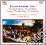 MUSICA ROMANTICA DELLE FIANDRE cd musicale