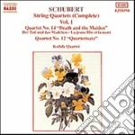 QUARTETTI X ARCHI (INTEGRALE) VOL.1: QUA cd musicale di Franz Schubert